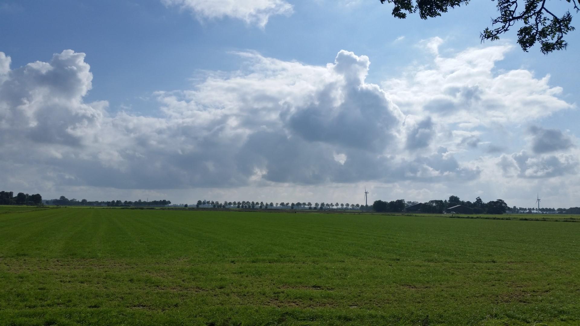 Minicamping Groningen – Uitzicht